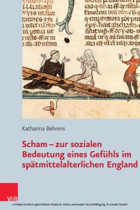 Scham - zur sozialen Bedeutung eines Gefühls im spätmittelalterlichen England