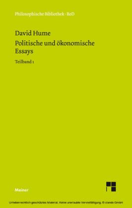 Politische und ökonomische Essays