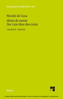 Schriften in deutscher Übersetzung / Der Laie über den Geist