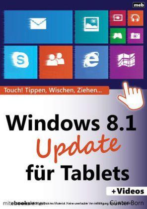Windows 8.1 Update für Tablets