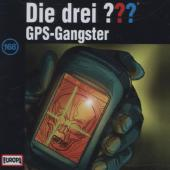 Die drei ??? - GPS-Gangster, 1 Audio-CD Cover