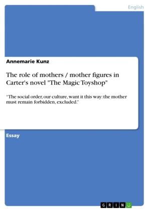 """The role of mothers / mother figures in Carter's novel """"The Magic Toyshop"""""""