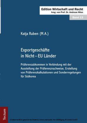 Exportgeschäfte in Nicht - EU Länder