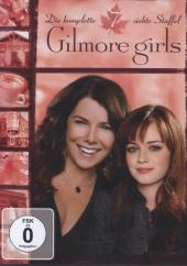 Gilmore Girls, Re-packing, 6 DVDs Cover