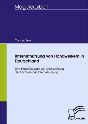 Internetnutzung von Handwerkern in Deutschland