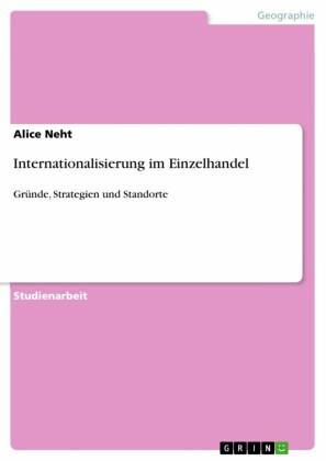 Internationalisierung im Einzelhandel