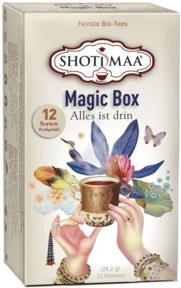 Magic Box, Tee-Aufgussbeutel