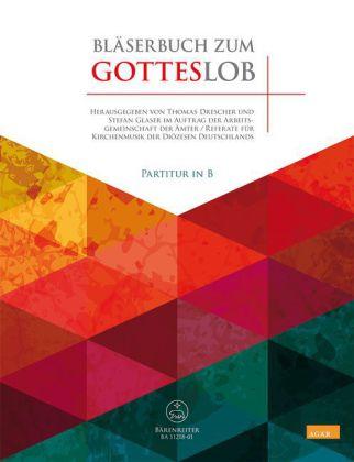 Bläserbuch zum Gotteslob (Partitur in B)