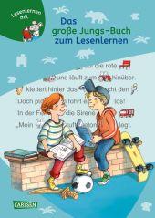Das große Jungs-Buch zum Lesenlernen Cover