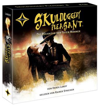 Skulduggery Pleasant - Die Rückkehr der Toten Männer, 10 Audio-CDs