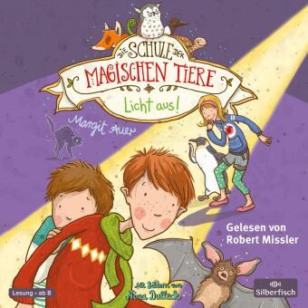 Die Schule der magischen Tiere - Licht aus!, 2 Audio-CDs