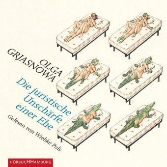 Die juristische Unschärfe einer Ehe, 4 Audio-CDs