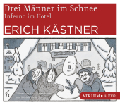 Drei Männer im Schnee / Inferno im Hotel, 4 Audio-CDs Cover