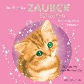 Zauberkätzchen - Ein magischer Sommer, 1 Audio-CD Cover
