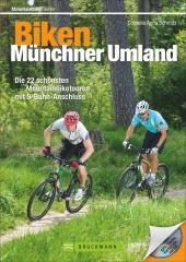 Biken Münchner Umland, m. CD-ROM Cover