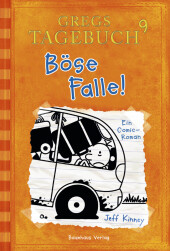 Gregs Tagebuch, Böse Falle Cover