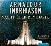 Nacht über Reykjavík, 4 Audio-CDs