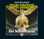 John Sinclair - Der Schädelthron, 1 Audio-CD Cover