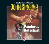 John Sinclair - Pandoras Botschaft, 1 Audio-CD Cover