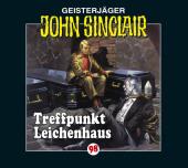 John Sinclair - Treffpunkt Leichenhaus, 1 Audio-CD Cover