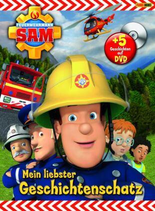 Feuerwehrmann Sam - Mein liebster Geschichtenschatz, m. DVD