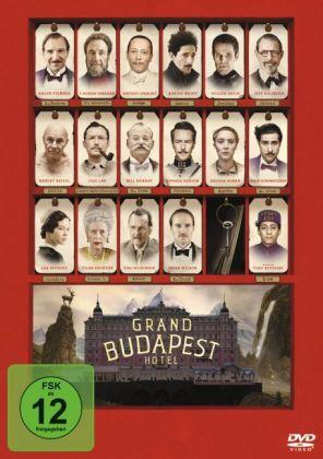 Grand Budapest Hotel, 1 DVD