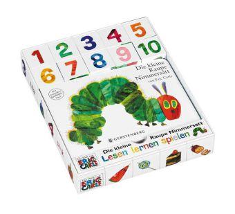 Die kleine Raupe Nimmersatt, mit Lern-Spiel-Würfeln