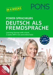 PONS Power-Sprachkurs Deutsch als Fremdsprache, m. 2 Audio-CDs Cover