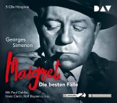 Maigret, Die besten Fälle, 5 Audio-CDs Cover