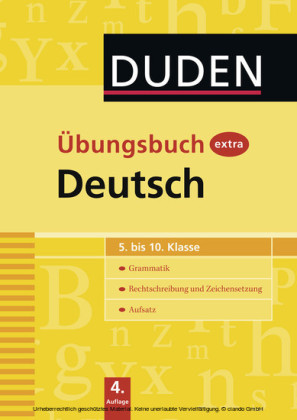102 Übungsbuch extra - Deutsch 5.-10. Klasse