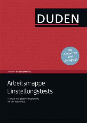 duden ratgeber arbeitsmappe einstellungstests download e book - Lebenslauf Duden