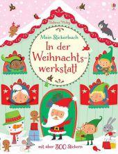 Mein Stickerbuch: Besuch in der Weihnachtswerkstatt Cover