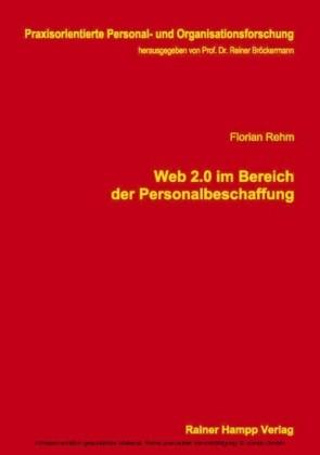 Web 2.0 im Bereich der Personalbeschaffung