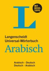 Langenscheidt Universal-Wörterbuch Arabisch Cover