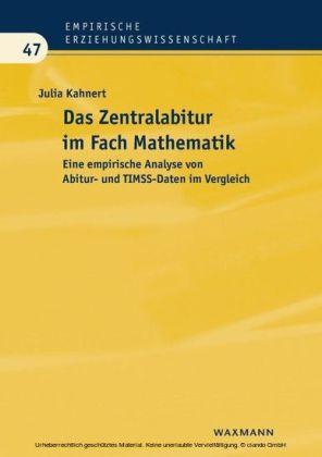 Das Zentralabitur im Fach Mathematik