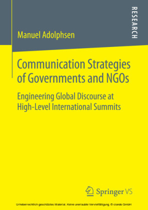 Communication Strategies of Governments and NGOs