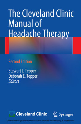 The Cleveland Clinic Manual of Headache Therapy