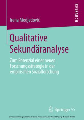 Qualitative Sekundäranalyse