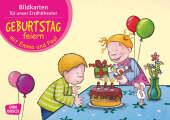 Geburtstag feiern mit Emma und Paul, Kamishibai Bildkartenset
