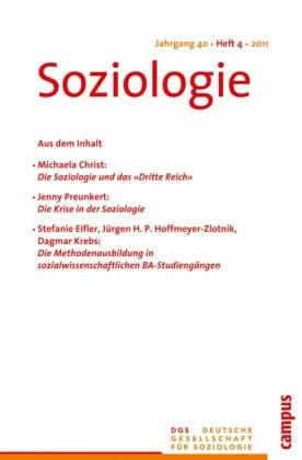 Soziologie Jg. 40 (2011) 4