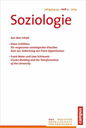 Soziologie Jg. 43 (2014) 2