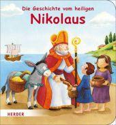 Die Geschichte vom heiligen Nikolaus Cover