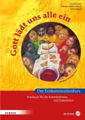 Gott lädt uns alle ein, Kursbuch für Katechetinnen und Katecheten, m. CD-ROM Cover