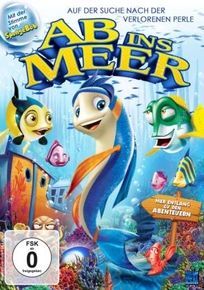 Ab ins Meer - Auf der Suche nach der verlorenen Perle, 1 DVD