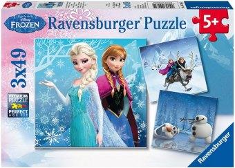 Die Eiskönigin - Völlig unverfroren, Abenteuer im Winterland (Kinderpuzzle)