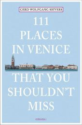 111 Places in Venice that you must not miss Cover