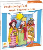 Dreikönigsfest und Sternsingen den Kindern erklärt Cover