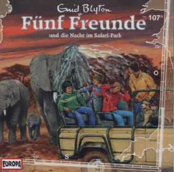 Fünf Freunde und die Nacht im Safari-Park, 1 Audio-CD