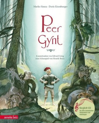 Peer Gynt, m. Audio-CD