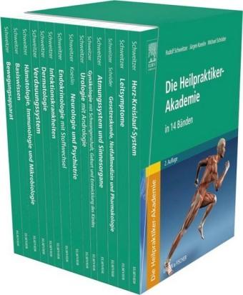 Die Heilpraktiker-Akademie, 14 Bde.